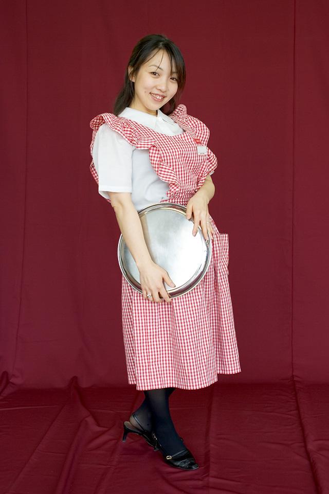 藤木由貴さん / RAKERU制服