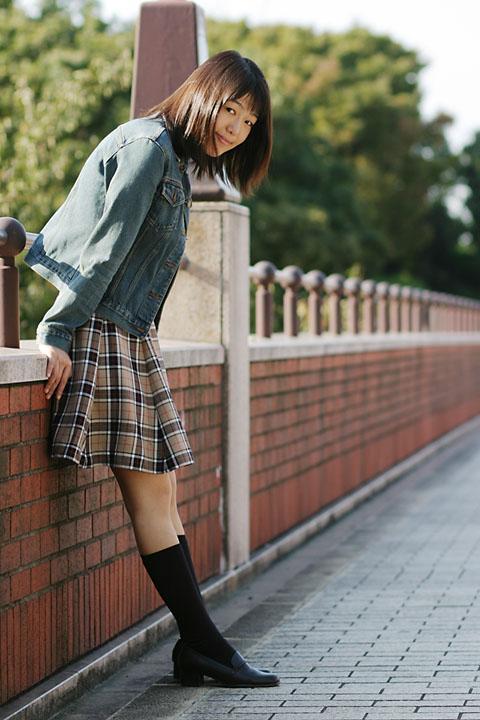 みさとさん / 2003-10-19 / 横浜某所 / EOS 10D